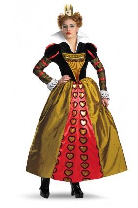 Deluxe Red Queen Costume