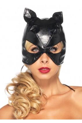 Lace Up Cat Mask