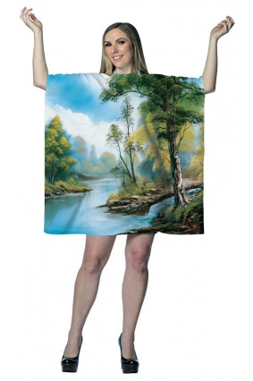 Bob Ross Little Painting Dress