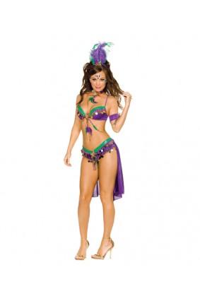 Mardi Gras Queen Costume