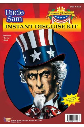 Uncle Sam Instant Disguise Kit