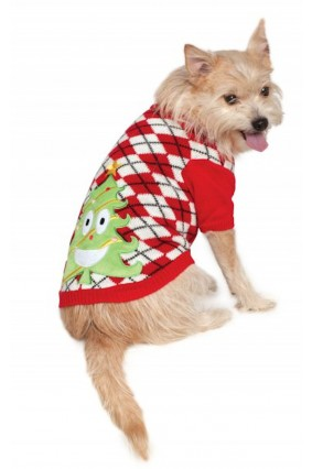 Christmas Tree Pet Christmas Sweater Costume