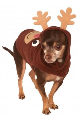 Reindeer Pet Hoodie Costume