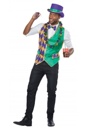 Mardi Gras Men's Vest Kit