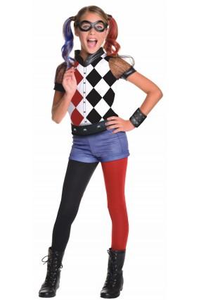 Deluxe Harley Quinn Kids Costume