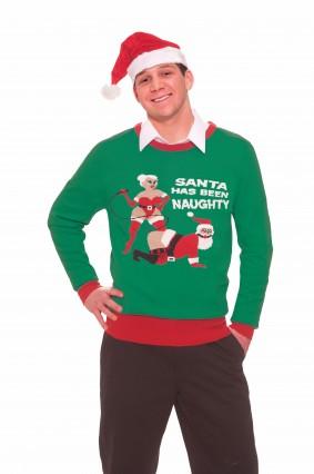 Naughty Santa Sweater
