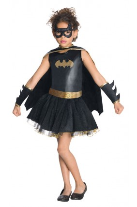Batgirl Tutu Dress Kids Costume