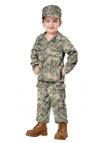Soldier Toddler Costume