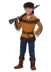 Frontier Boy Davy Crockett Costume