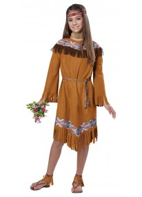 Classic Indian Girl Costume