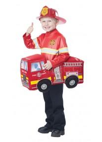 Fire Truck Hero Costume