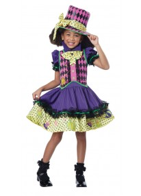 Deluxe Mad Hatter-ess Costume