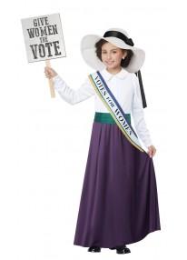 American Suffragette Child Costume
