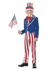Uncle Sam Boy's Costume