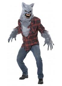 Gray Lycan Costume