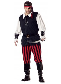 Cutthroat Pirate Costume Plus Size