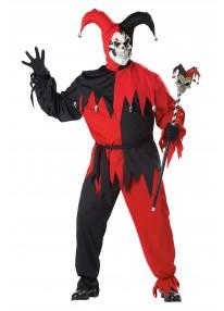 Evil Jester Costume Plus Size
