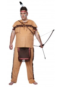 Native American Brave Costume Plus Size