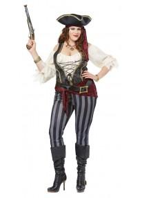 Brazen Buccaneer Plus Size Costume