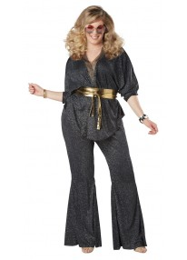 Disco Dazzler Adult Plus Costume