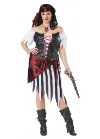 Pirate Beauty Plus Size Costume
