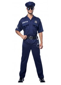 Police Adult Plus Costume