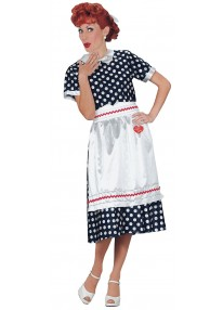 I Love Lucy Polka Dot Dress Costume