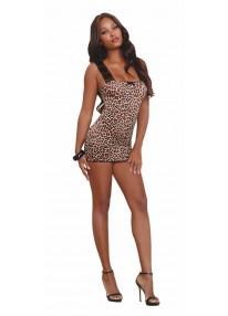 Leopard Chemise