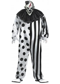 Killer Clown Costume Plus