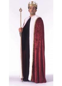 Burgundy Kings Robe
