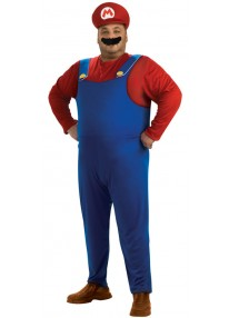 Super Mario Plus Size Costume