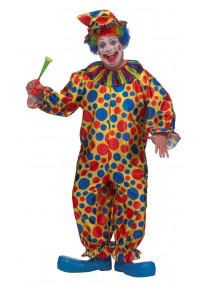 Clown Plus Size Costume