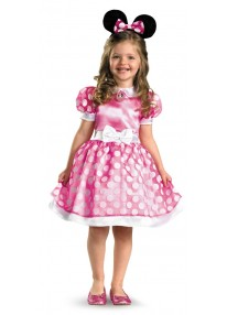 Classic Pink Minnie Mouse Child's Costume