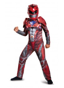2017 Red Power Ranger Costume