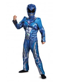 2017 Blue Power Ranger Costume