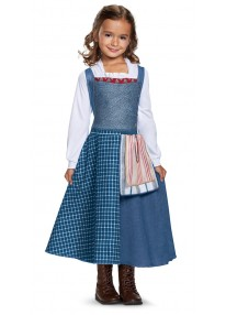 Classic Belle Village Dress Child Costume