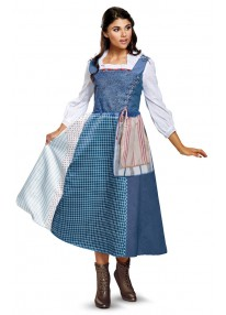 Deluxe Belle Village Dress Costume