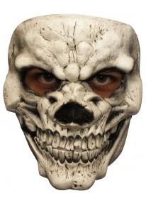 Skull 3 White Mask