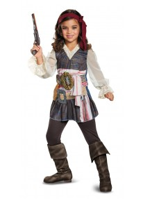 2017 Captain Jack Sparrow Girl's Costume