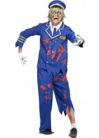 Zombie Pilot-Captain Costume