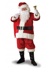 Regency Santa Suit Costume