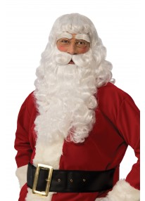 Santa Long Wig & Beard Set
