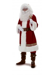 Old Time Santa w/Hood Costume