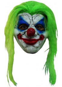Clown 5 With Hair Mask
