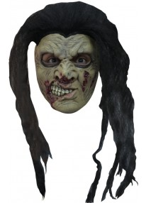 Zombie 8 With Hair Mask