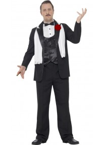 Curves Gangster Adult Costume