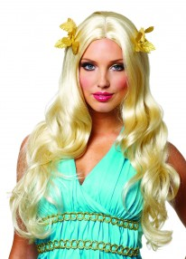 Goddess Wig w/Wreath