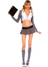 Cute And Sexy School Girl Costume