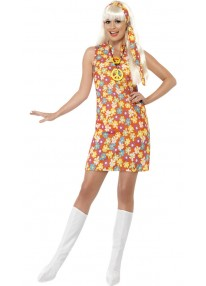Flower Hippy Costume