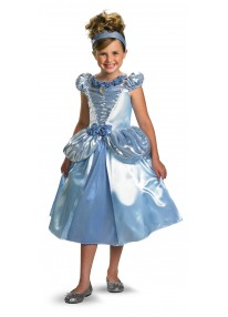 Deluxe Shimmer Cinderella Costume